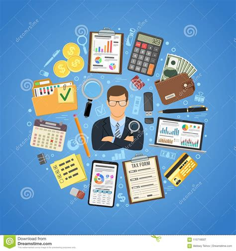 Auditor Cartoons, Illustrations & Vector Stock Images