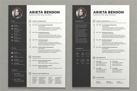 Two Column Resume: 15+ Templates to Download (FREE Included)