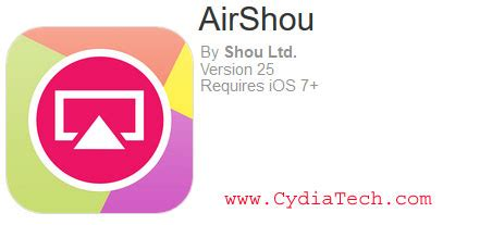 Download AirShou Screen Recorder for iOS 11/10/9+(iPhone/iPad)