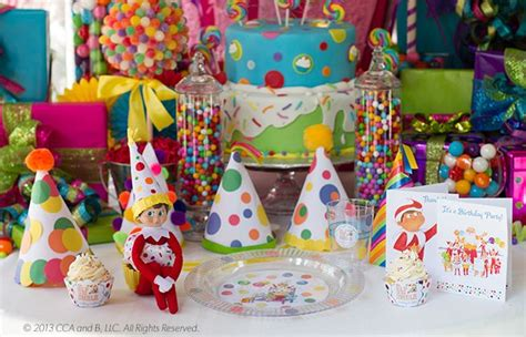 Create your very own DIY Elf on the Shelf Birthday Party