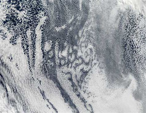 Sky Delight: Awesome Cloud Formations Seen From Space
