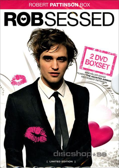 Robsessed + The Haunted Airman (2-disc) - DVD - Discshop