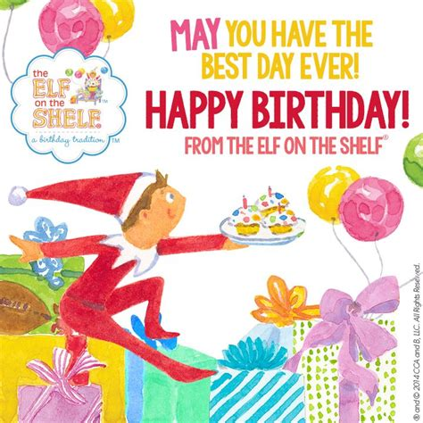 46 best images about Happy Birthday from the Elf on the