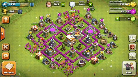 Town Hall 6 / TH6 Base