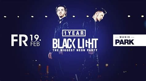 Party - 1 Year Blacklight – The Biggest Neon Party // Fr