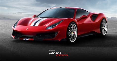 Ferrari 488 Pista: the most powerful V8 in the history of