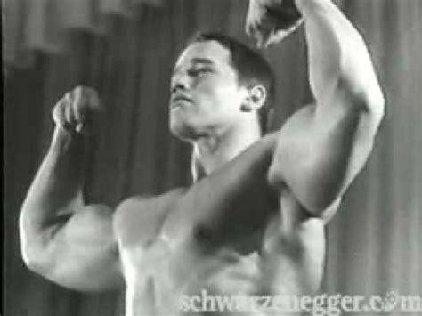 Young Arnold Schwarzenegger (18) wins Mr Cologne Germany