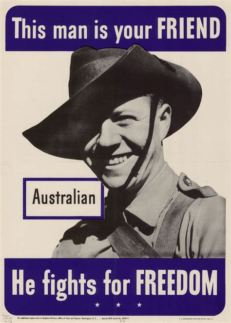 This man is your friend : Australian : he fights for