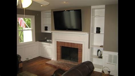Mounting TV Above Fireplace - YouTube