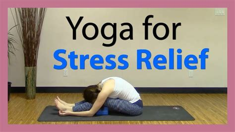 Vin to Yin Yoga for Stress Relief - All Levels Yoga - YouTube