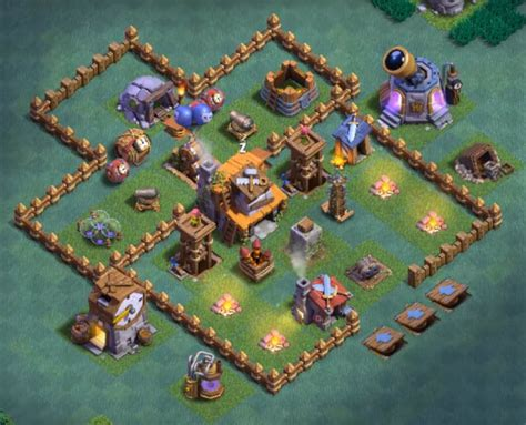 14+ Best Builder Hall 4 Base in Sep 2018 (New!)