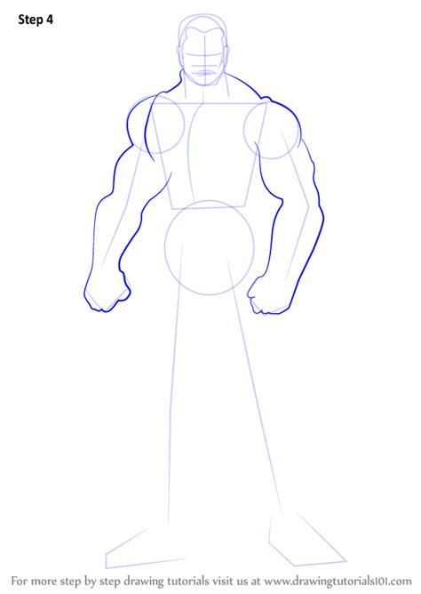 Learn How to Draw Colossus (DC Comics) Step by Step