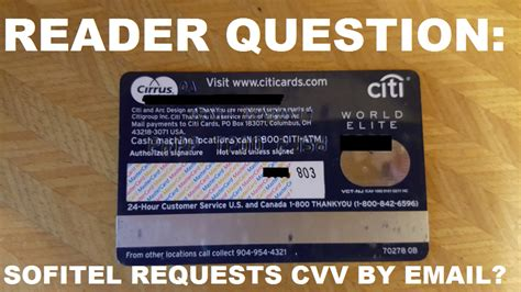 Reader Question: Sofitel Requests CVV Number By email