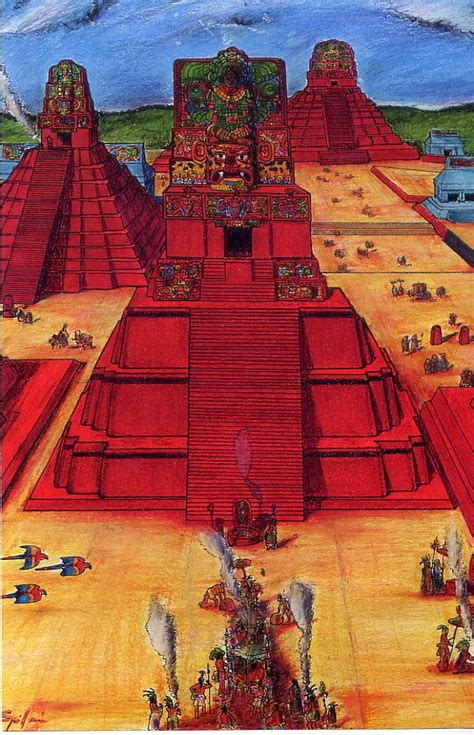 The lost city of Tikal was painted red latex to find