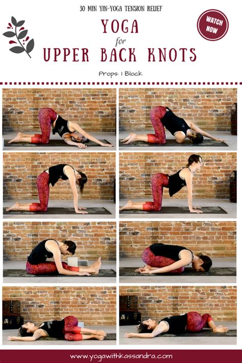 Best Yoga Poses to Relieve Upper Back Knots - Yoga with