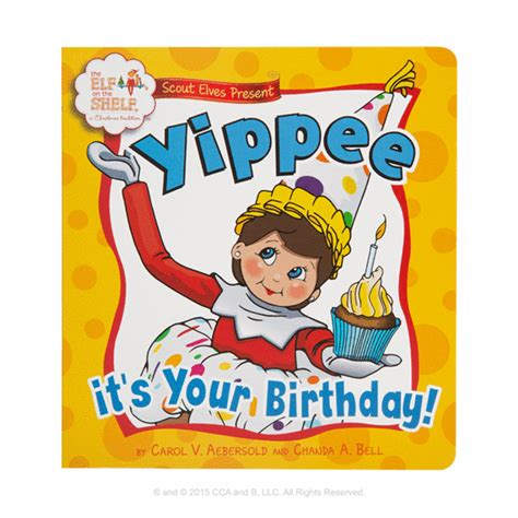 The Elf on the Shelf®: A Birthday Tradition Board Book