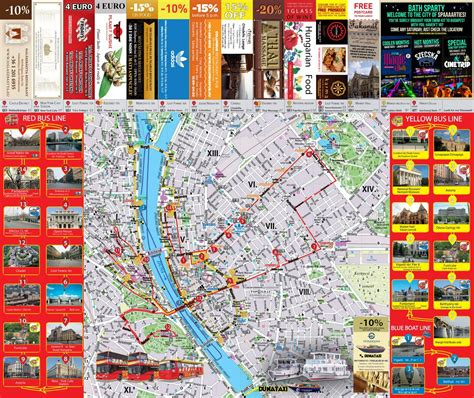 Budapest map ~ Travel Diaries and Useful Tips