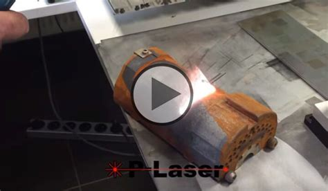 P-Laser QF-1000 - High power laser cleaning for rust and